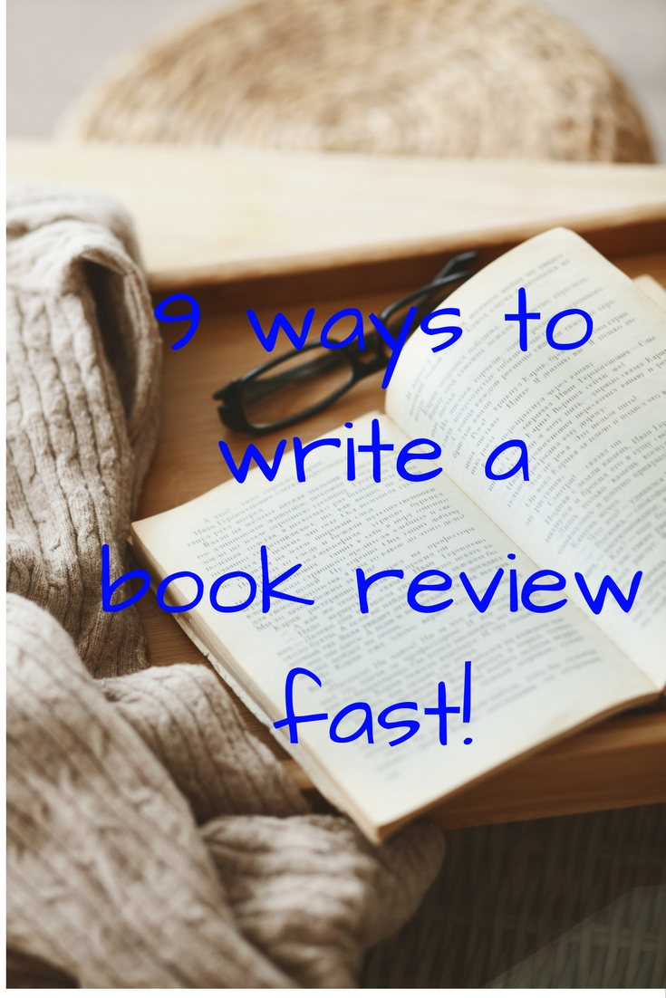 Tips on writing a book fast